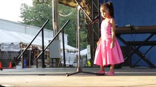 The Chainsmokers - Don't Let Me Down Talent Show Performance By 4 Year Old