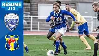 J11 | US Avranches MSM – SC Toulon (2-1), le résumé | National FFF 2019-2020