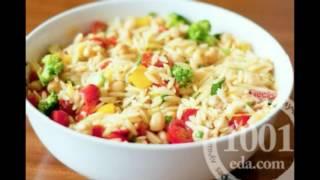Рецепт салата с консервированными кальмарами и рисом