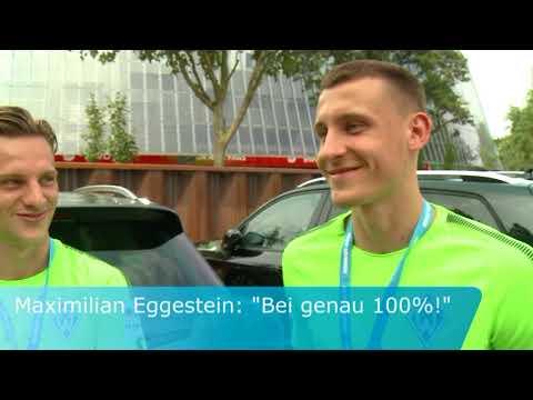 Robert Bauer und Maximilian Eggestein bekommen ihren Dienstwagen
