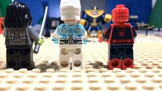 LEGO AVENGERS INFINITY WAR THE AVENGERS VS THANOS