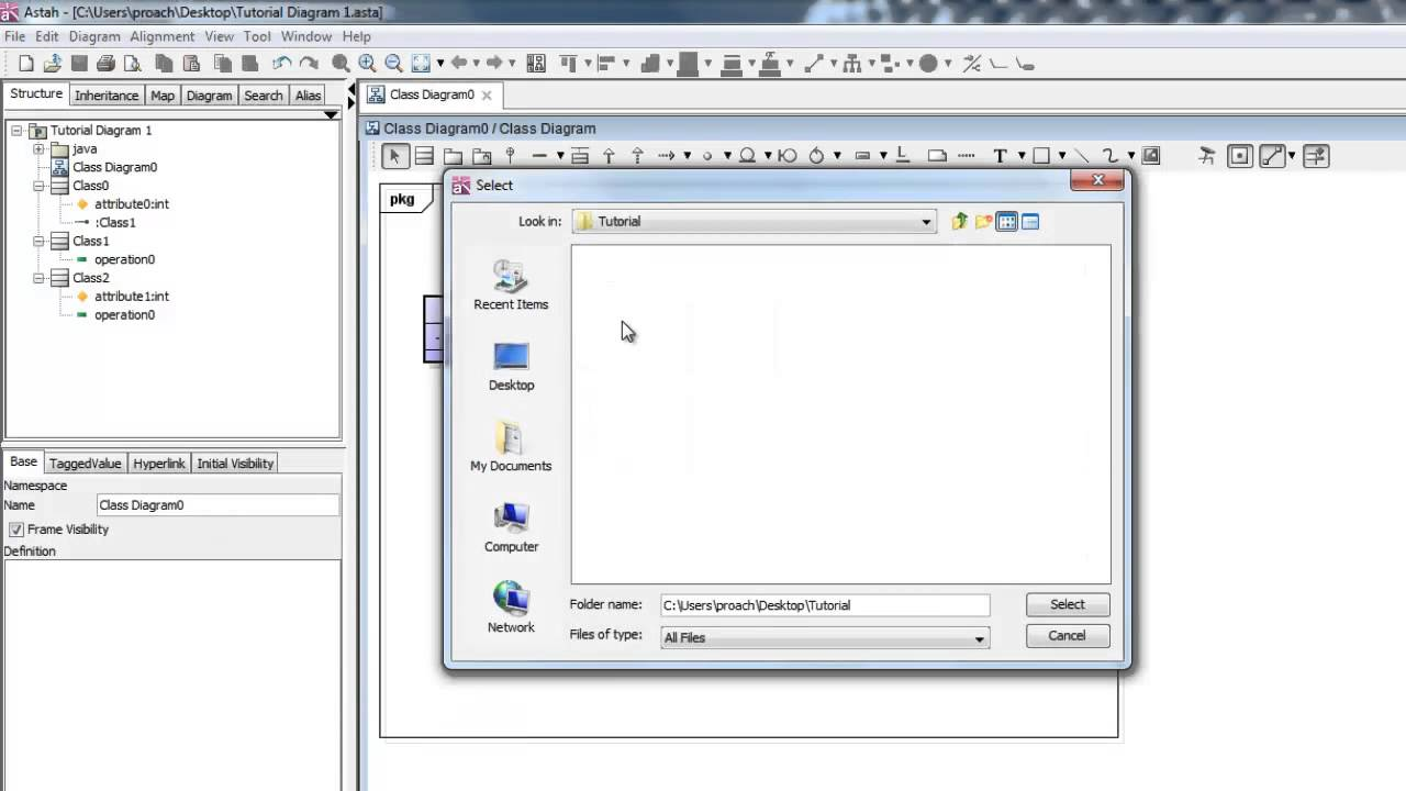 Astah quick start tutorial youtube astah quick start tutorial ccuart Image collections
