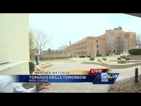 National Weather Service to conduct 2 tornado drills Thursday