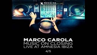 Marco Carola @ AMNESIA ◢Music On◣ Closing 28-09-12 Part #4/5