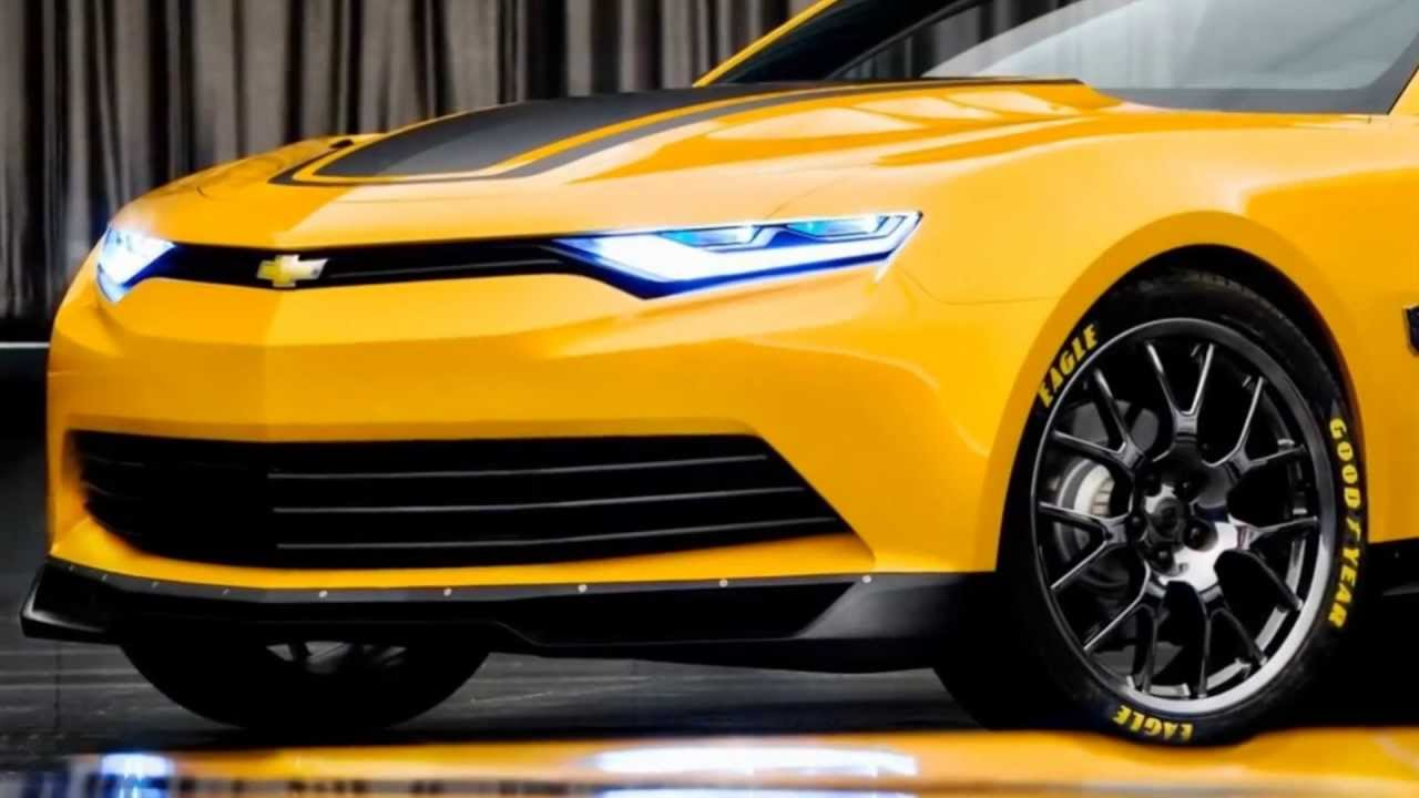 Camaro Concept 2014 - Bumblebee - YouTube