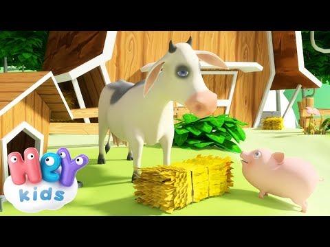 Lola La Vache - Comptines pour bébé avec animaux
