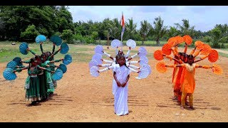 Independence Day National Flag Amazing Dance by Students GHS Valappakudi Thanjavur