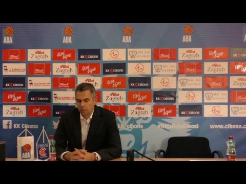 Press konferencija (LIVE) KK Cibona - KK Crvena Zvezda