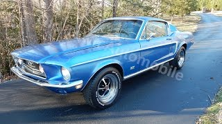 1968 Mustang Fastback for sale Old Town Automobile in Maryland