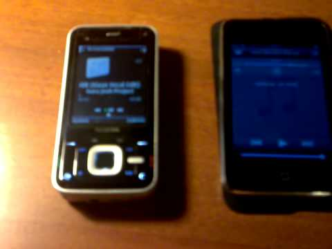 Ipod touch 2g vs Nokia N81 speaker TEST