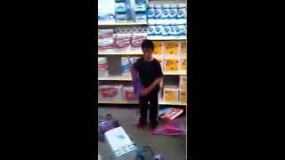 Kid Destroys Dollar Store thumbnail