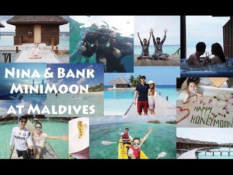 TRAVEL    Nina & Bank MiniMoon at Maldives    NinaBeautyWorld