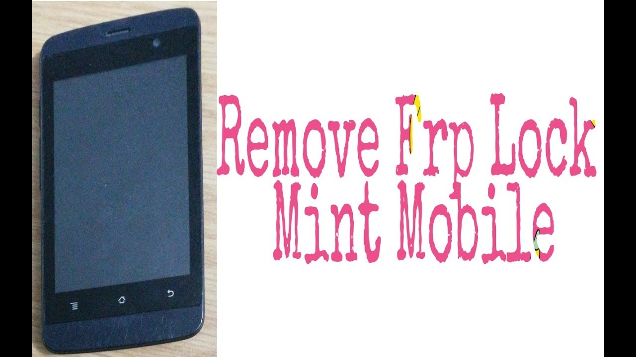 how to remove google account on mint mobile