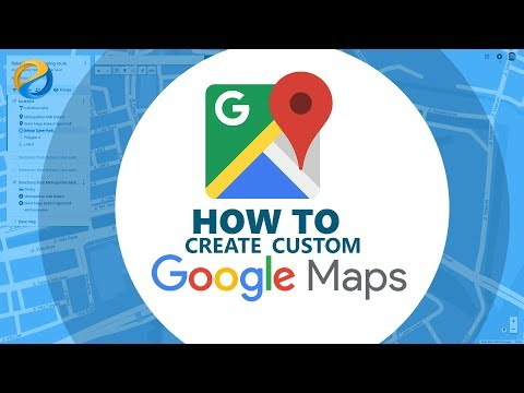Create custom Google map with iframe embedding