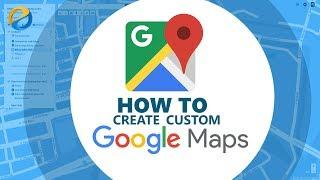 إنشاء مخصص خريطة جوجل مع iframe التضمين
