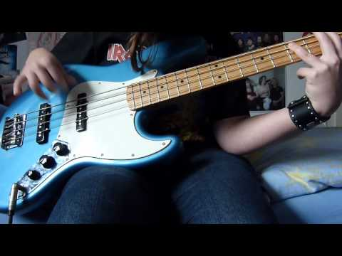 Iron Maiden - Satellite 15...The Final Frontier Bass Cover
