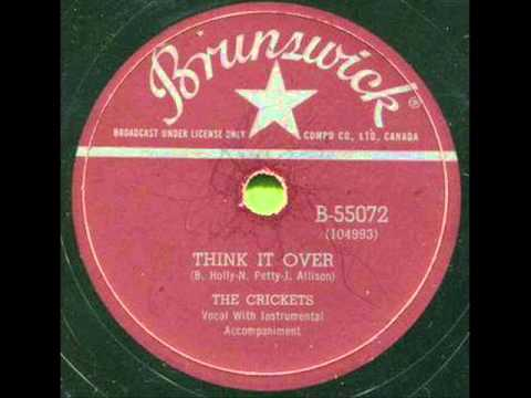 CRICKETS  Think It Over  1958 Mp3