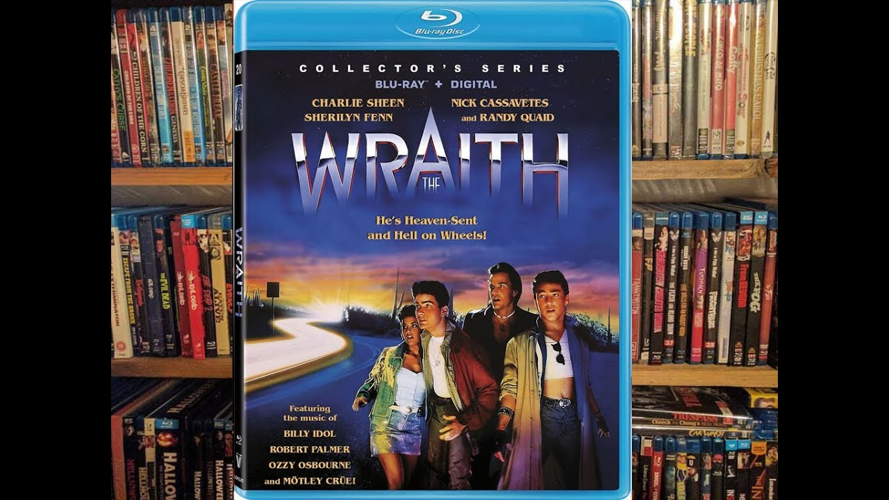 Download The Wraith (1986) Vestron Video Blu-ray Review