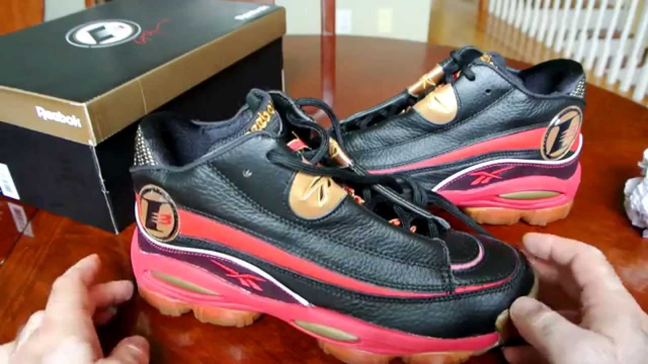 Reebok The Answer Black And Red - YouTube 0db3091c2