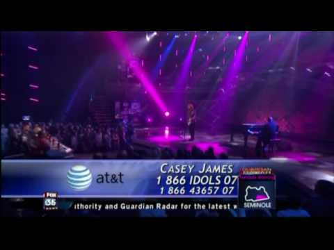 Casey James - Daughters (2nd song American Idol Top 3)