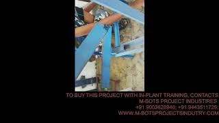 Design and fabrication of sugarcane cutter using slider crank mechanism MBOTS PROJECT INDUSTRY