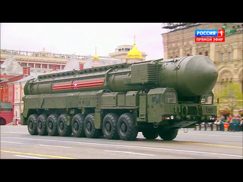 Russia 1 TV - Victory Day Parade 2017 : Full Army Military Assets Segment [720p]