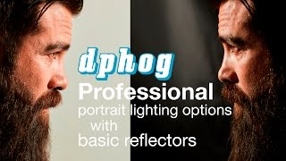 Lighting #4: Professional Portrait Lighting with Reflectors