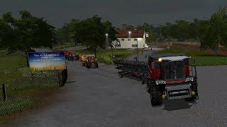 Farming simulator 17 - Blickling timelapse ep.34 Harvest time!