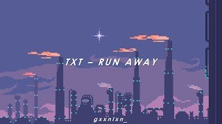 [INDO SUB] TXT - RUN AWAY