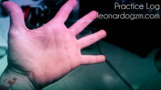 | Practice Vlog: Hand Fitness Part 1 | Leonardo Guzman |