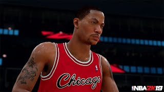 NBA 2K19 MyTEAM: 20th Anniversary Series III Derrick Rose Packs