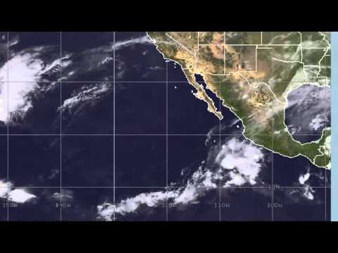 Strange Storm Forms in East Pacific Travel Video