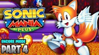 Sonic Mania Plus Encore Mode Walkthrough No Commentary - Part 4