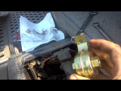 thermo king tri pac apu fuel filter replacement