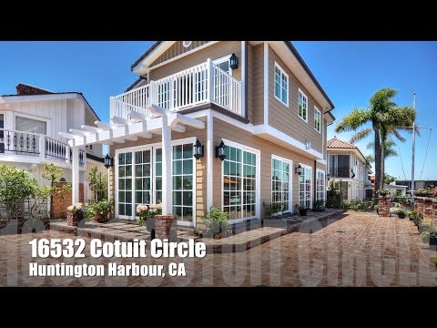 16532 Cotuit Circle - Huntington Harbor