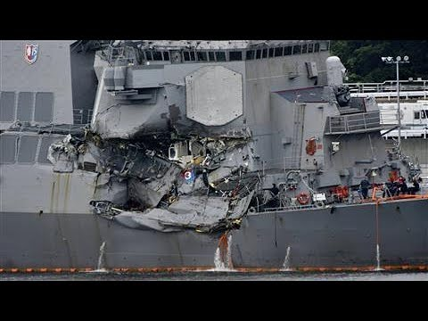 Navy Ship Collision Leaves 7 Dead