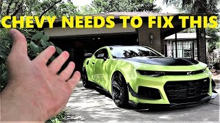 5 Things I HATE About My Chevy Camaro ZL1 1LE!