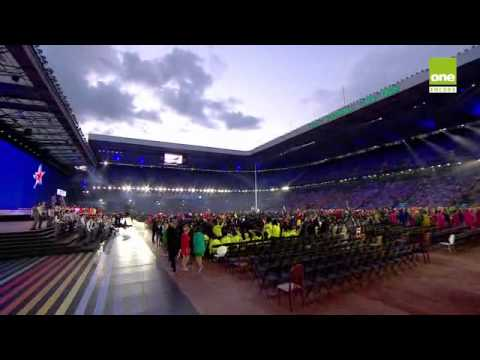 Glascow Commonwealth Games 2014 Opening Ceremony