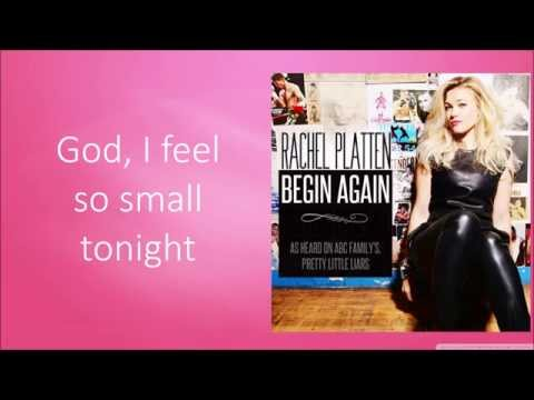 Rachel Platten - Begin Again (Lyric Video)