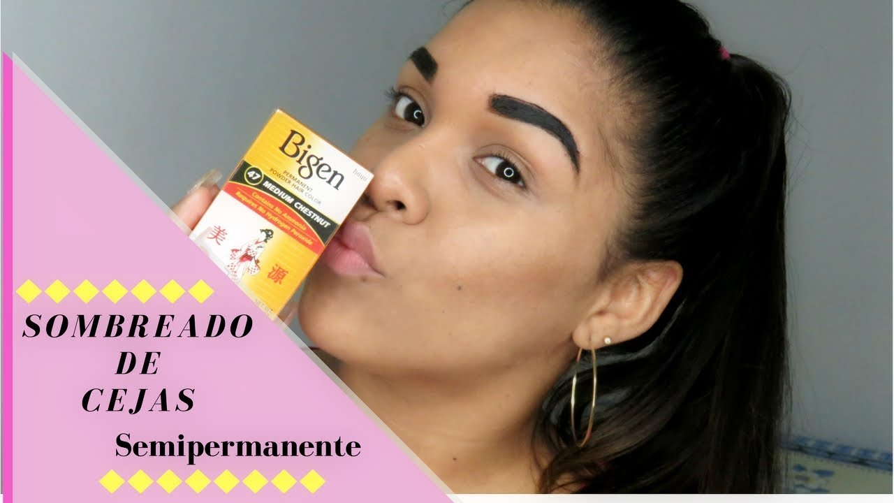Sombreado De Cejas Semipermanente En Casa Youtube