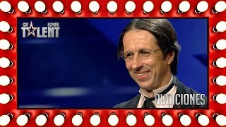 ¡Su humor nos recuerda al de Mr. Bean! | Audiciones 9 | Got Talent España 2018
