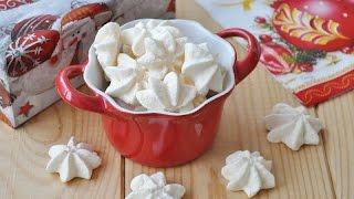 Печенье безе — видео рецепт