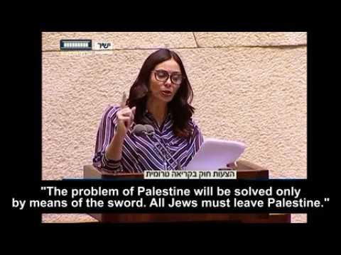"The Israeli truth about the ""NAKBA day"" by the Israeli Minister of Culture and Sport, Miri Regev"