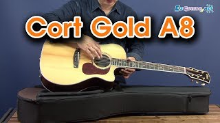 Cort Gold A8 어쿠스틱 기타 개봉기