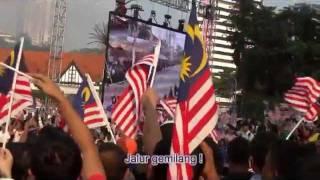 Malaysia Hari Kemerdekaan Ke-54 lagu/song 《Jalur Gemilang》+Lyrics