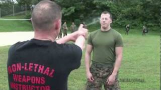 U.S. Marines OC Spray Certification - SSgt Joseph Ross