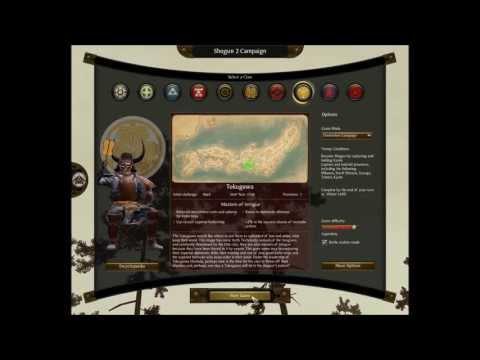 Lets Play: Legendary/Hardcore Campaign Tokugawa, Shogun:2  Part I