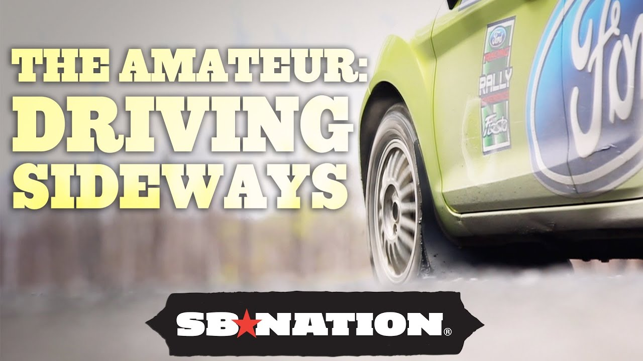The Amateur: How to Drive Sideways at Rally Car School