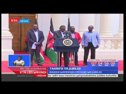Rais Uhuru Kenyatta atoa taarifa kuhusu marudio ya uchaguzi wa mchujo wa chama cha Jubilee