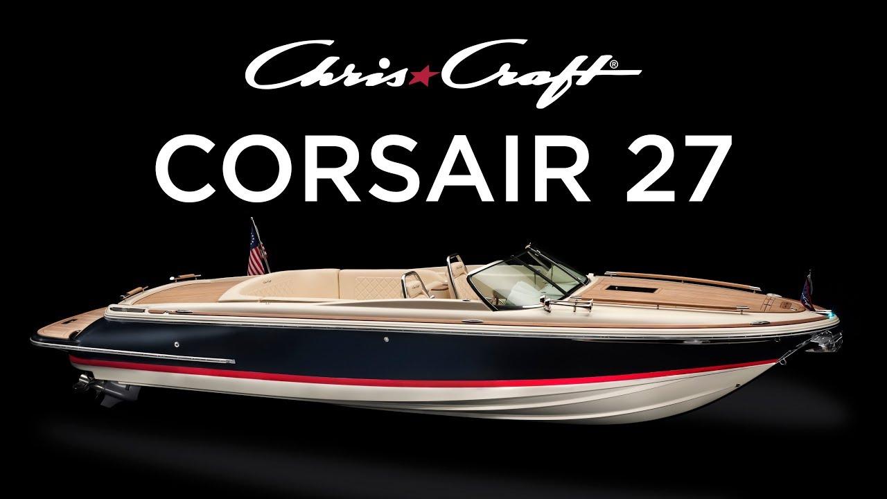 Corsair27 Chris Craft Japan